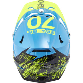 ONeal Backflip RL2 Helmet BURNOUT black/blue/hi-viz